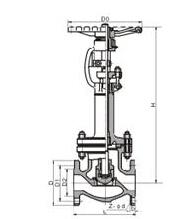 DJ41Y、DJ41W 型 PN16~PN40 低温截止阀