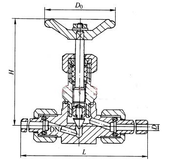 J21H-160、J21W-160P、J21W-160R 型外螺纹截止阀