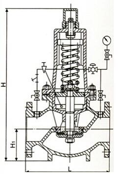 Y46T组合式减压阀结构图
