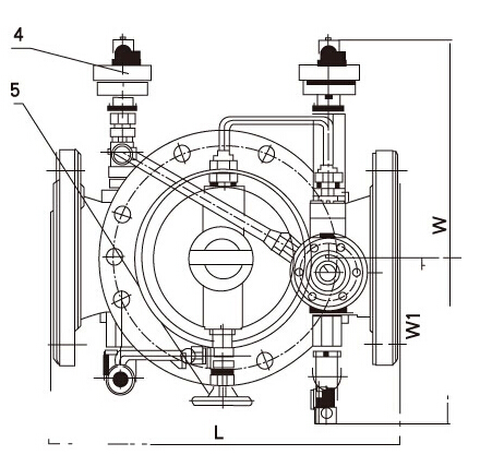 900X-10/16Q紧急关闭阀结构图片