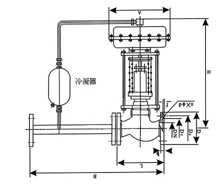 ZZY自力式压力调节阀结构图