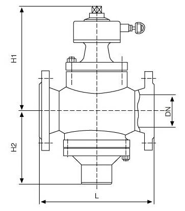 zlf-16型自力式平衡阀结构图片