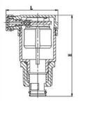 102自动排气阀结构图