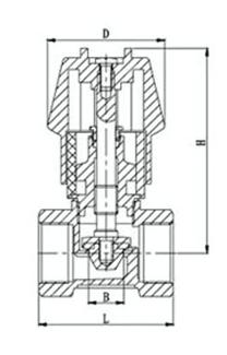 103流量调节阀结构图