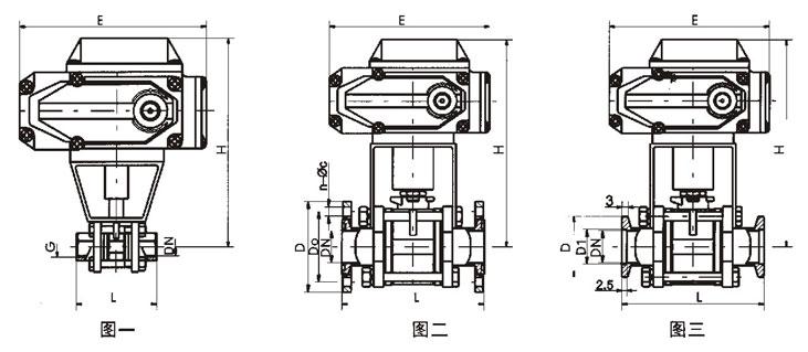 电动真空阀结构图