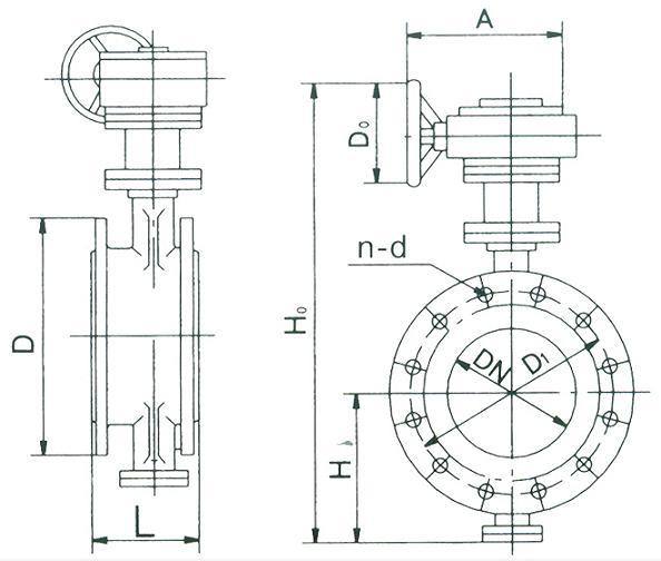 蝶阀设计计算书