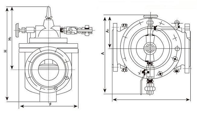 遥控浮球阀结构图
