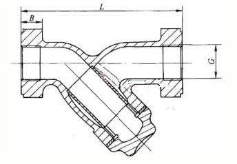 铸铁过滤器外形尺寸