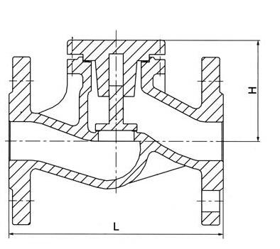 德标止回阀结构图