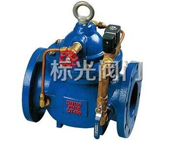 电磁导阀,针阀,球阀,微形过滤器和压力表组成水力控制接管系统.图片