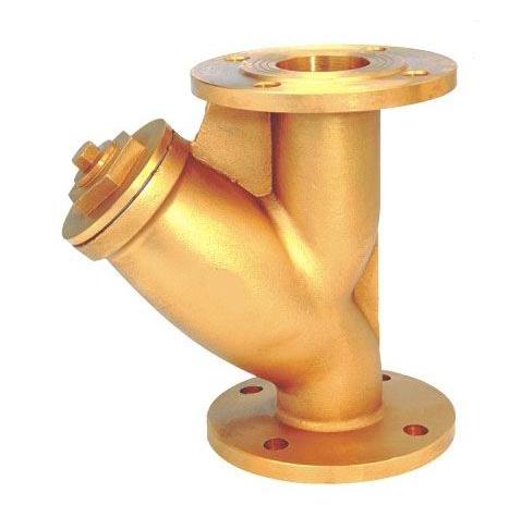 603黄铜法兰过滤器