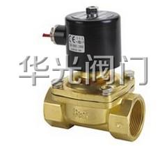 2W水用丝口电磁阀(黄铜)